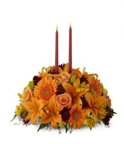 The FTD Bright Autumn Centerpiece